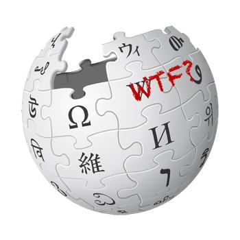 Wikipedia-WTF